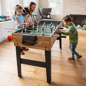 Best Choice Products 2x4ft 10-in-1 Combo Game Table Set wPool, Foosball, Ping Pong, Hockey, Bowling, Chess,.