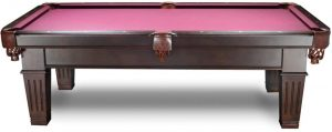 Imperial Chestnut Pool Table 8 Foot - The Westwood