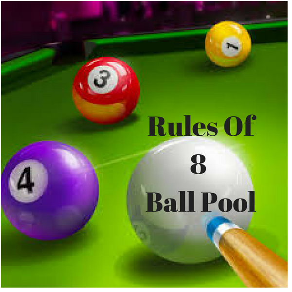 Rules Of 8 Ball Pool
