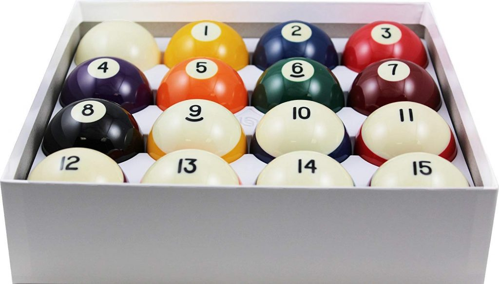 Aramith 2-14 Regulation Size Crown Standard BilliardPool Balls, Complete 16 Ball Set.