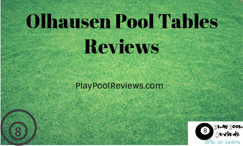 Ohlhausen pool tables reviews featured image
